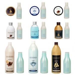 Kituri keratina COCOCHOCO + șampon clarifiant COCOCHOCO