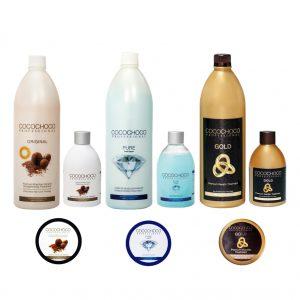 Kituri keratina COCOCHOCO + șampon clarifiant KLINTENSIV (GRATUIT)